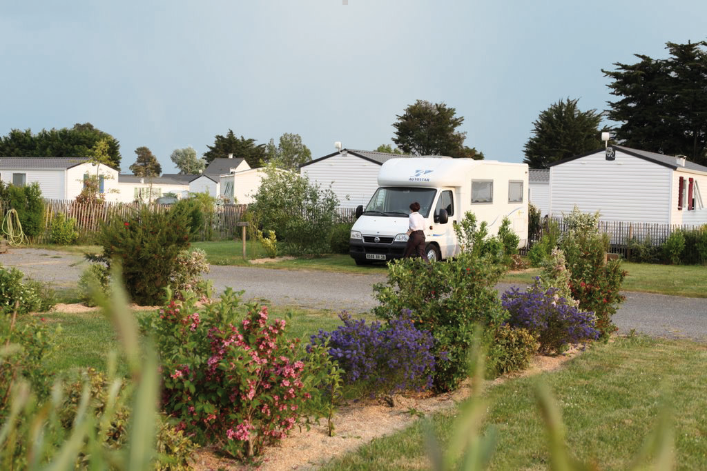 Emplacements Camping Car - proche plage (Morbihan)